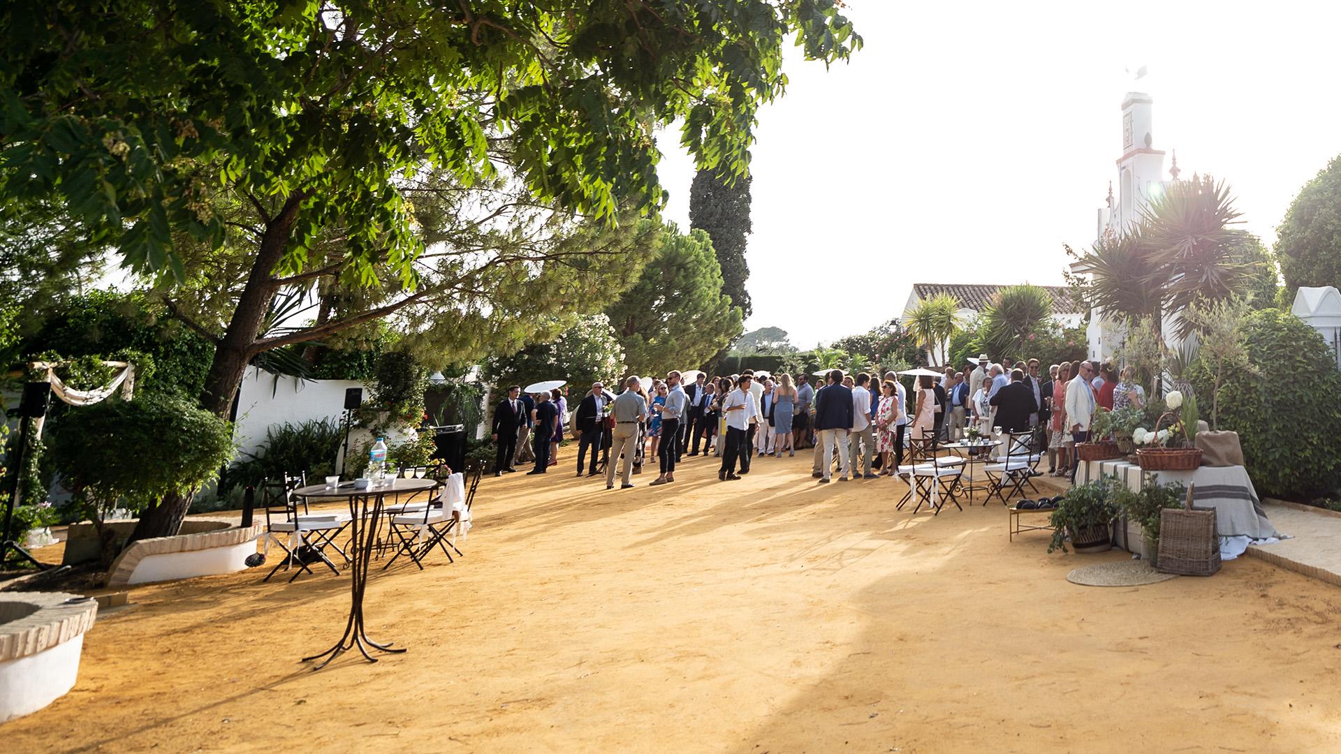 bodas al exterior en sevilla
