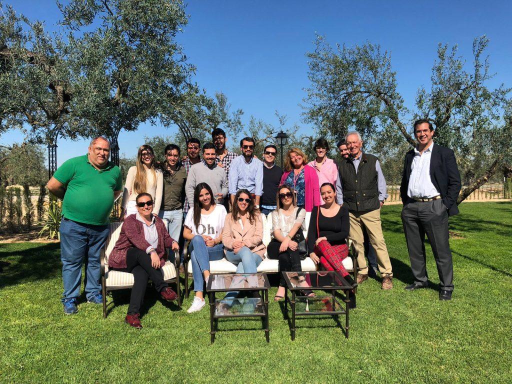 Visita de influencers en la Hacienda La Bodeguilla
