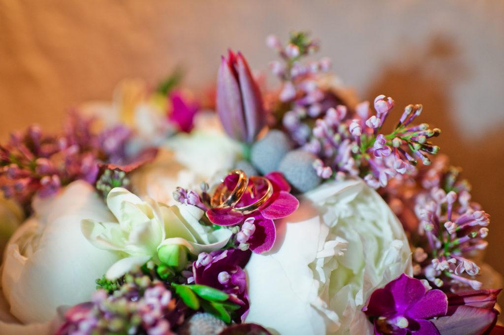La importancia de las flores en una boda